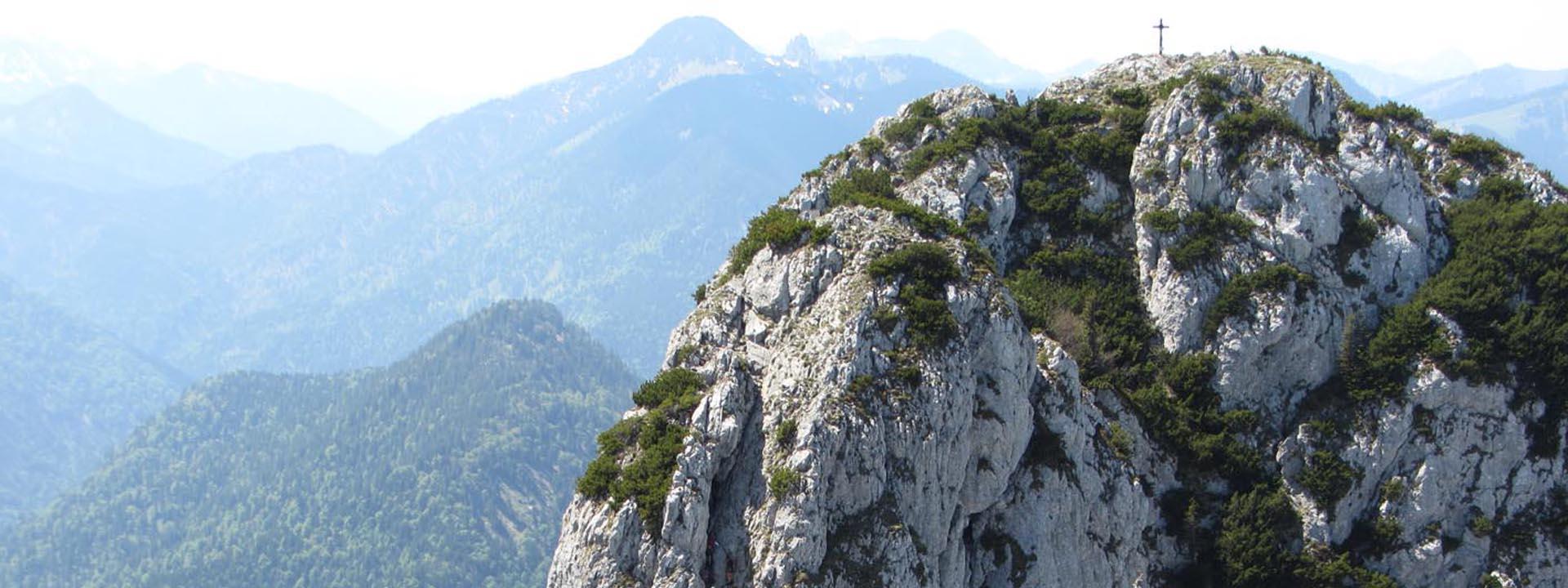 Hütte Berge Wanderung